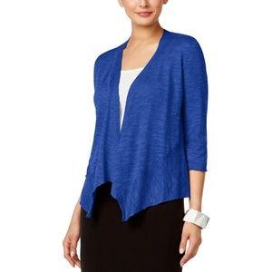 Like New Cropped Shaped Angled Alfani Cardigan XL